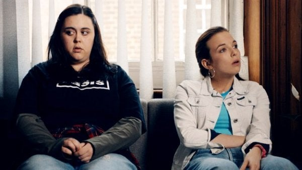 Bilde fra TV-serien My Mad, Fat Diary