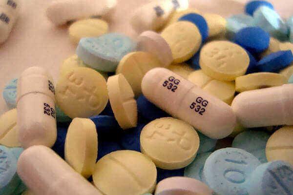 Forskjellige piller