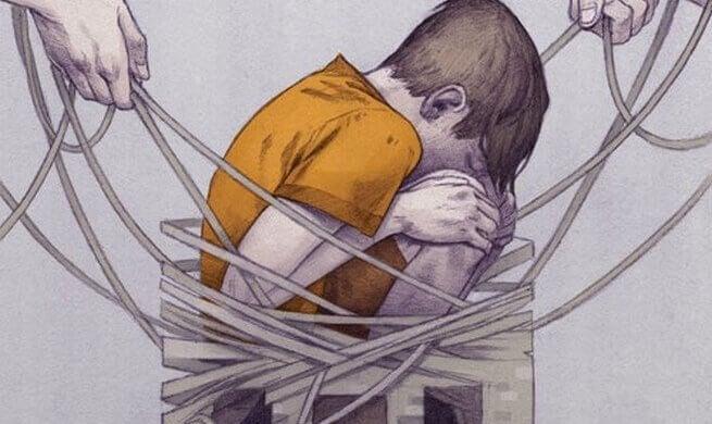 Barn fanget i nettet av kroppslig straff.
