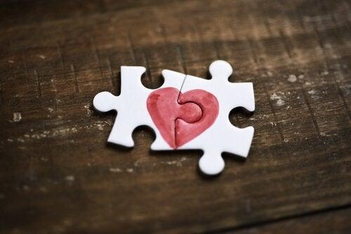 Puslespill med hjerte