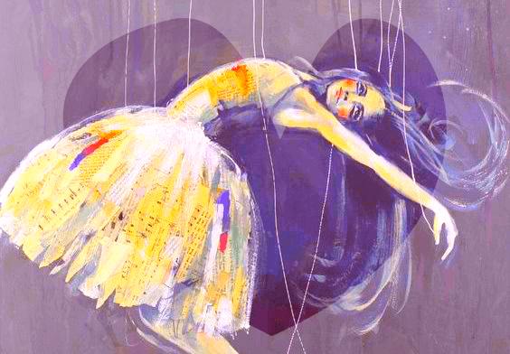 Kvinne med ballerinakjole har høye forventninger