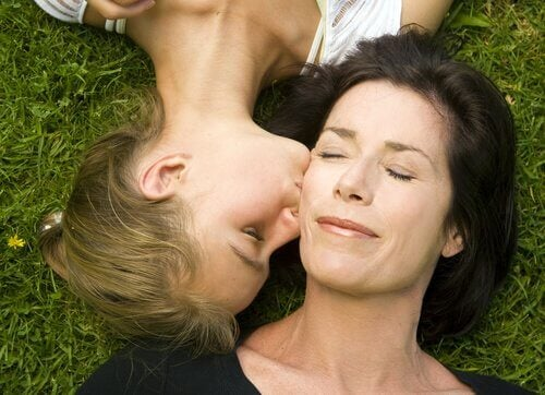 En mor og tenåringsdatter