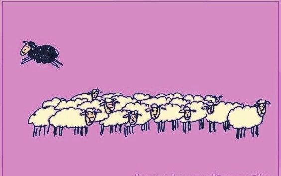 Fabelen om det sorte fåret og verdien av ærlighet