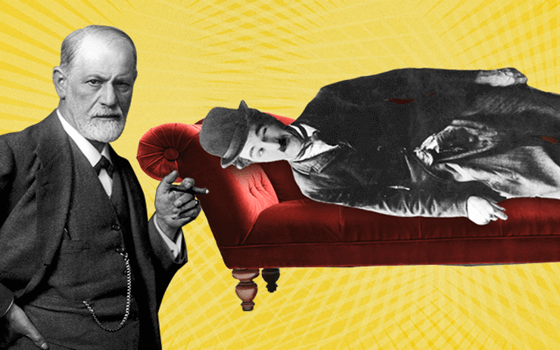 Freud og Charlie Chaplin