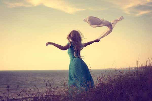 La det være plass til å slippe nye ting inn i livet ditt