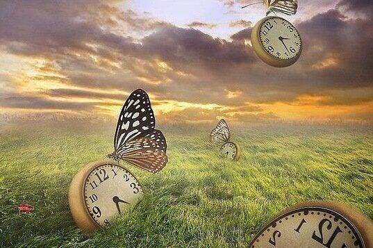 Surrealistiske klokker symboliserer risikoen for depresjon