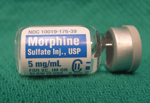 Morfin.
