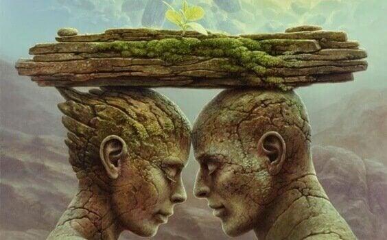 Speilteori og sårene som skaper og ødelegger forhold
