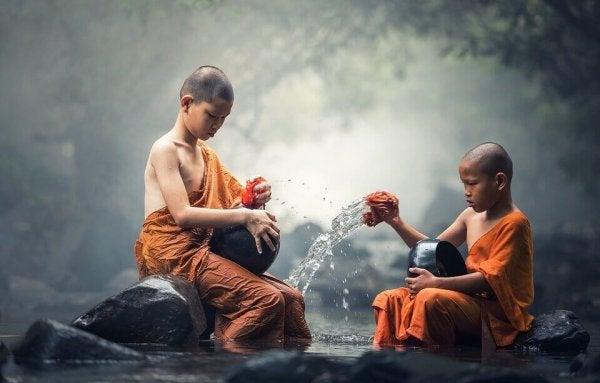 Barn praktiserer religion