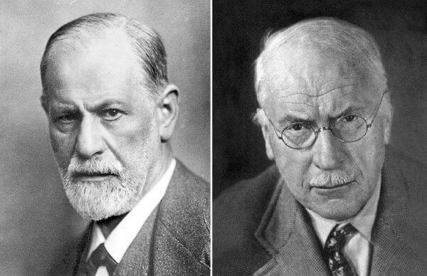 10 forskjeller mellom Freud og Jung