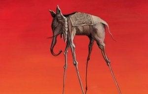 Dali's elefant: et annet kunstverk