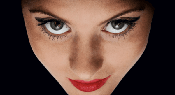 Et blikk fra en kvinne