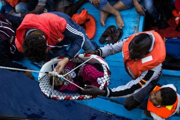 Flyktningers drama