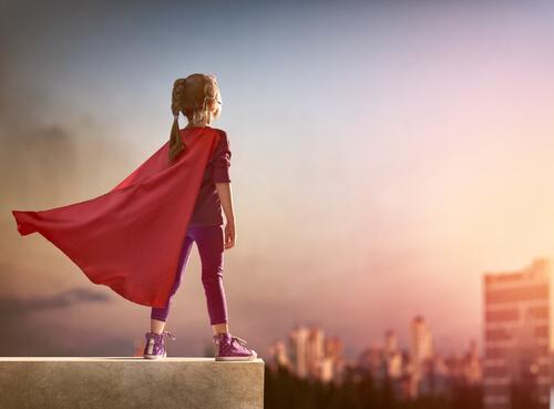 Hun vil alltid være en superhelt