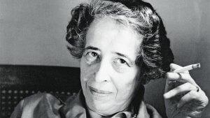 Hannah Arendt, en berømt tysk filosof