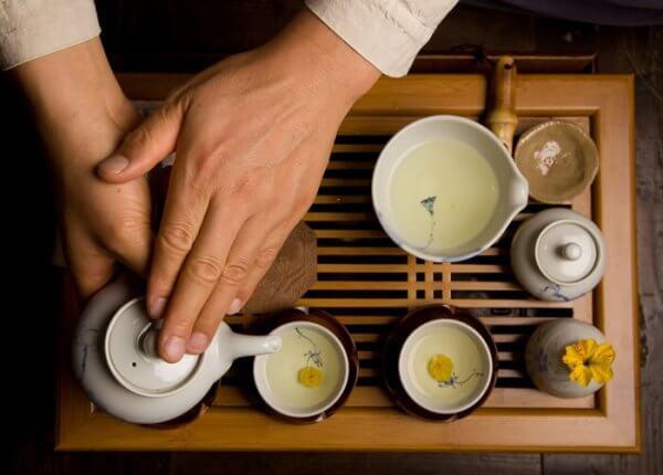 Te-seremonien og bevisst meditasjon