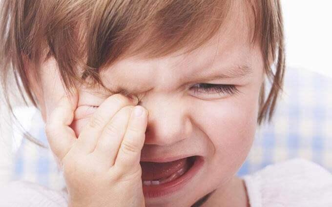 gråt barn