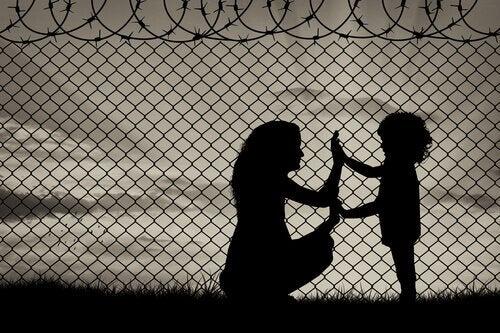 Flyktningers drama – i ingenmannsland
