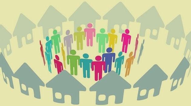 samfunn av naboer