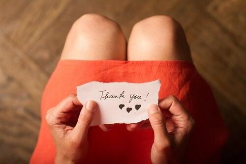3 øvelser for å dyrke takknemlighet