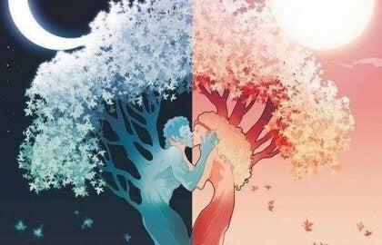 Kjærlighet mellom dag og natt