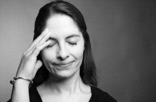 Kvinne med anterograd amnesi