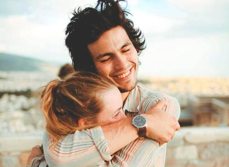 Lykkelig par