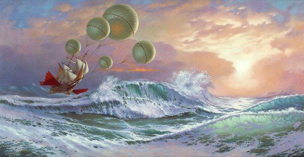 Et illustrasjonsbilde av en båt