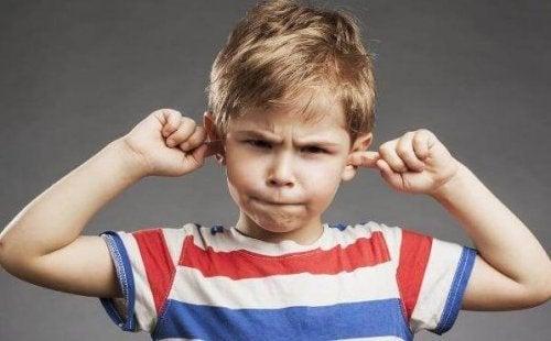 barnet lytter ikke