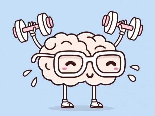Hjernen løfter vekter