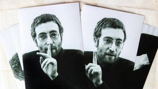 John Lennon hysjer.