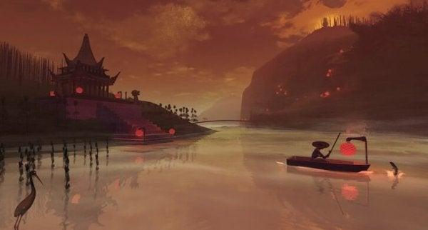 Kinesisk scene