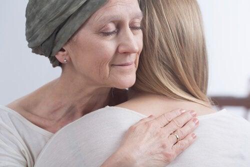 En dame som har overlevd kreft