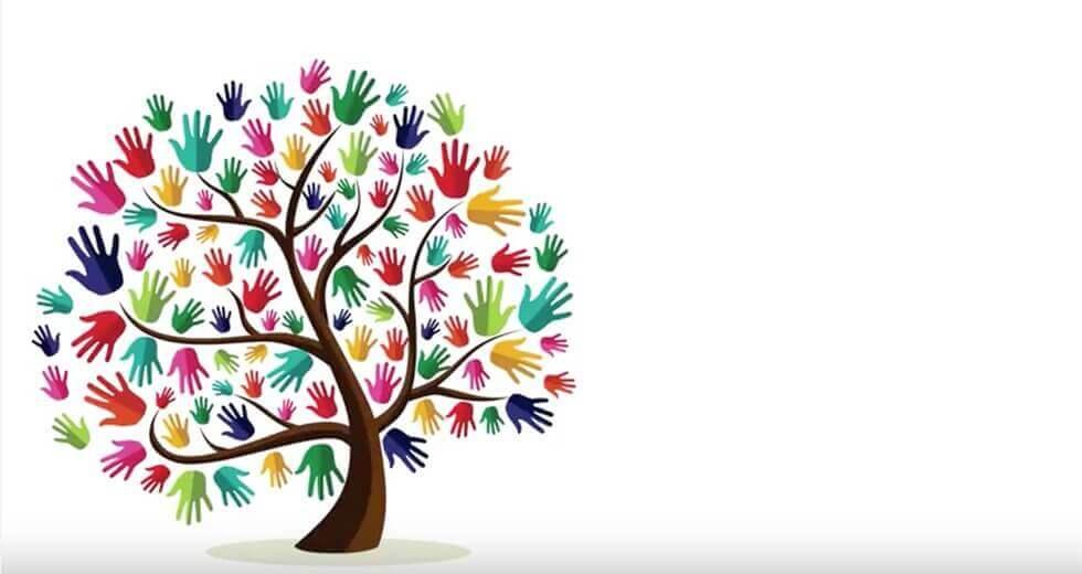 Et tre som symboliserer flere kulturer