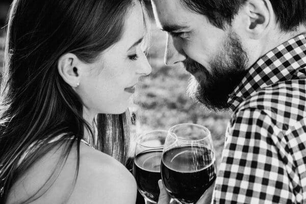 Et par som har vin