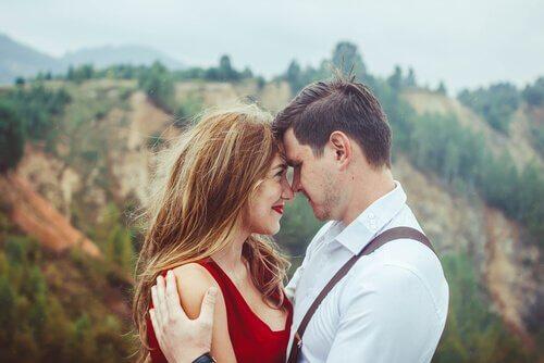 Romantisk par