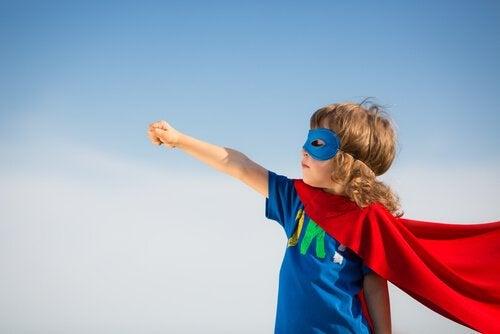 Gutt som superhelt