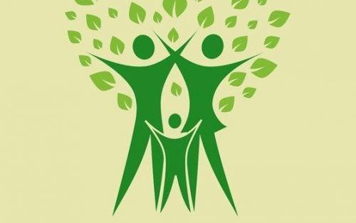Grønne figurer