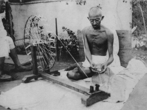 Gandhi veving