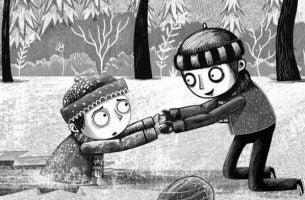 Historien om et barn som hjelper et annet barn