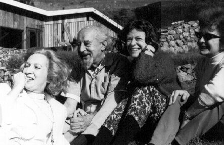 Fritz Perls med sine venner