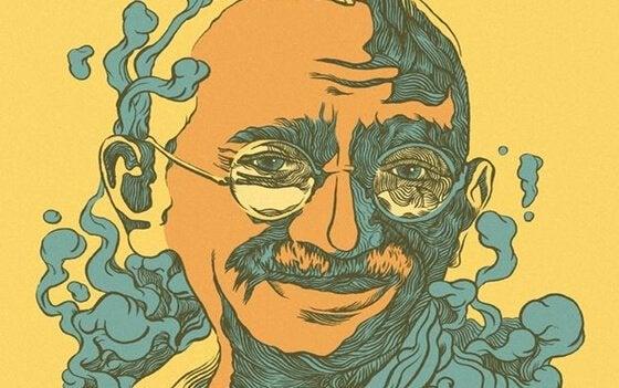 33 sitater fra Gandhi: forstå hans filosofi