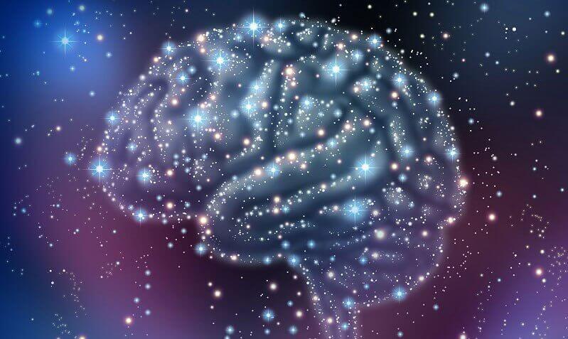 sternetegn som danner en hjerne