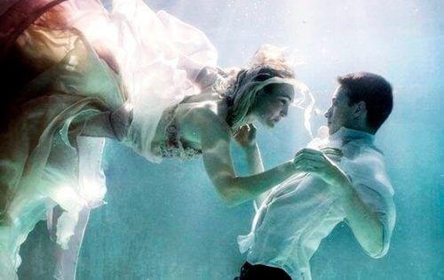 Par under vann