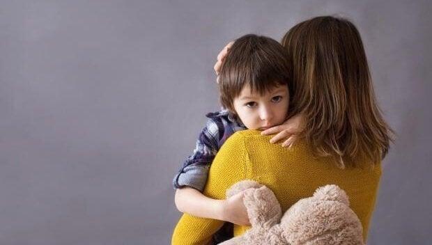 Barn av deprimerte mødre