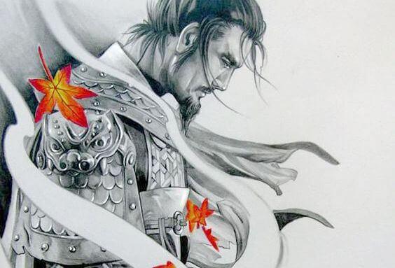samurai soldat