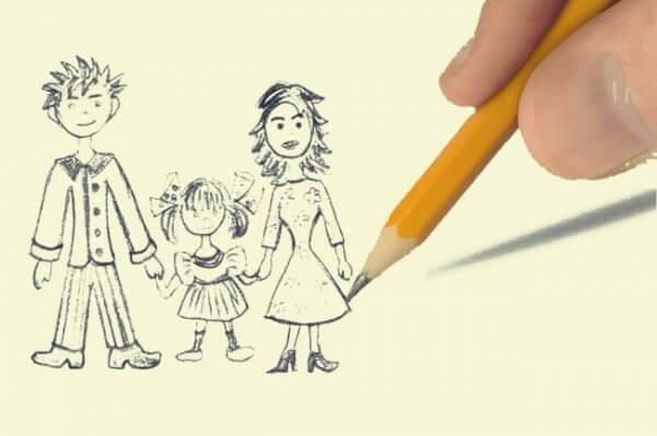 Den kinetiske familietegningstesten