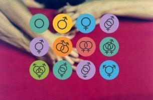 De forskjellige typene av seksuell orientering