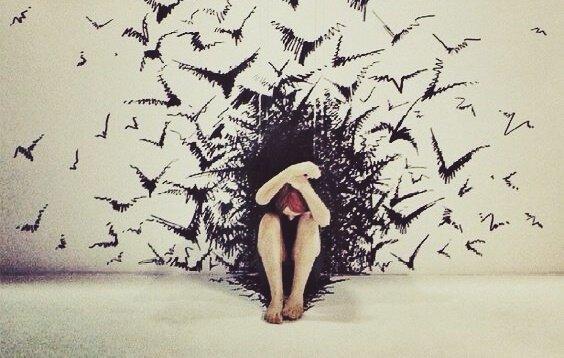 Årsakene til emosjonell utmattelse.