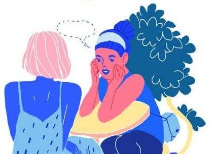 Kvinner snakker